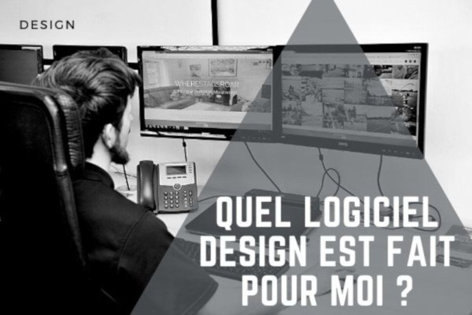 Quel logiciel de design est fait pour moi ?