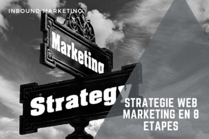 Stratégie web marketing en 8 étapes